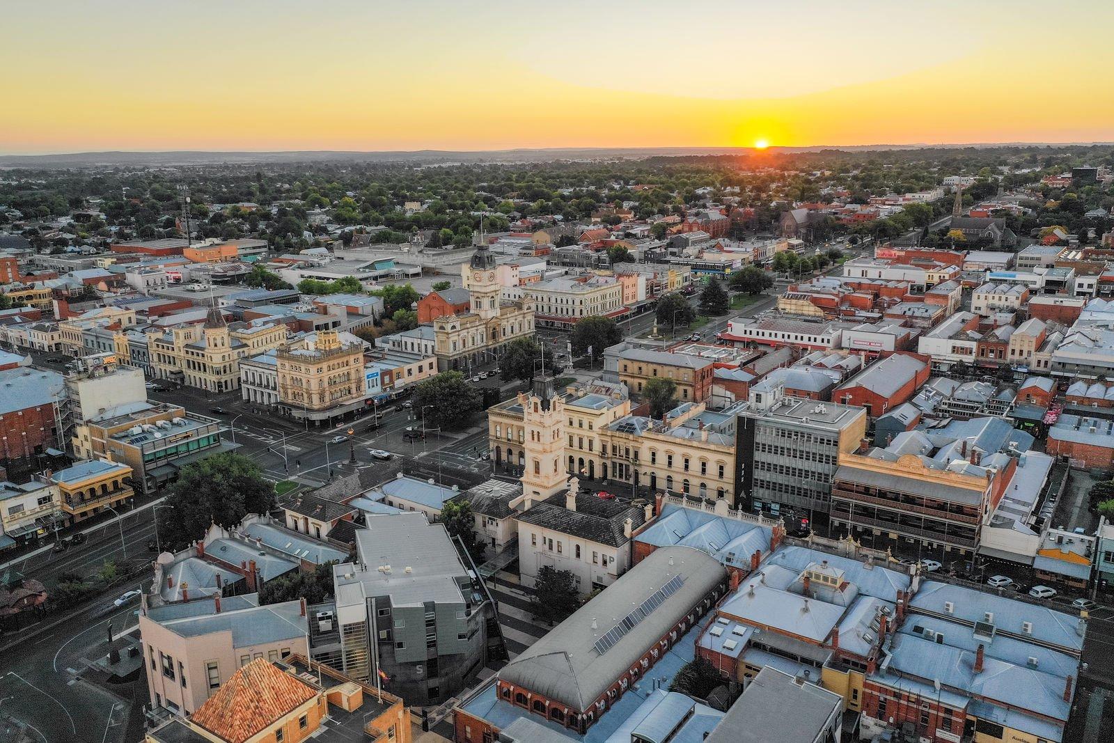 Ballarat aerial